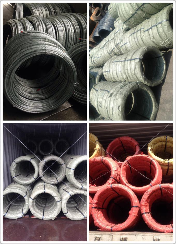 3/8 inch Steel Overhead Ground Wire 7 wire strand ASTM A363