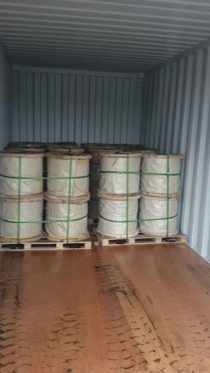 "1/4"" 5/16"" 3/8"" And 1/2"" Galvanized Steel Wire Strand As Per ASTM A 475"
