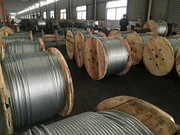 "Good Quality Steel Wire Cable & 7/16""(1*7)Zinc-coated Steel Wire Strand for guy wire as per ASTM A 475 with packing 5000ft/drum on sale"