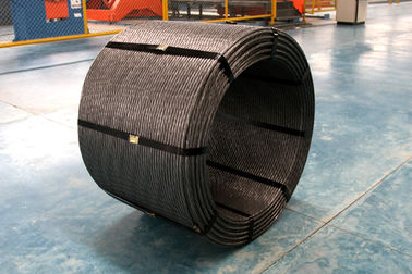 China Railway PC Steel Wire Strand As Per ASTM A416 Grade 270 For Construction supplier