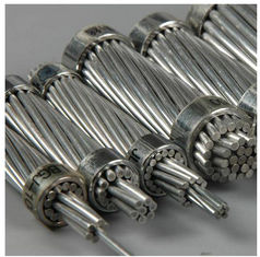 China Non - Specular Finish Aluminum Stranded Conductor For Overhead Transmission Lines supplier