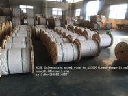 China ACSR Galvanized Wire Cable AS3606 BS 4565 , 0.5-5.0mm Gauge Steel Core Wire factory