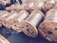 China Cold Drawn ASTM A475 Galvanised Steel Wire For Communication Cable factory