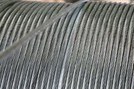 High Strength EHS Zinc Coated Steel Messenger Cable 3 8 Inch For Liquid Natural Gas Tanks