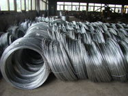 China High Performance 45# 55# Zinc Coated Steel Wire Strand For Fixed Object And Drift Bolt factory