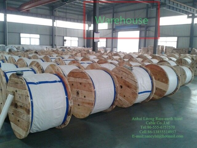 "7x2.64mm (5/16"")High Strength Galvanized Aircraft Grade Wire Rope For For Pre - Or Post - Tensioning"