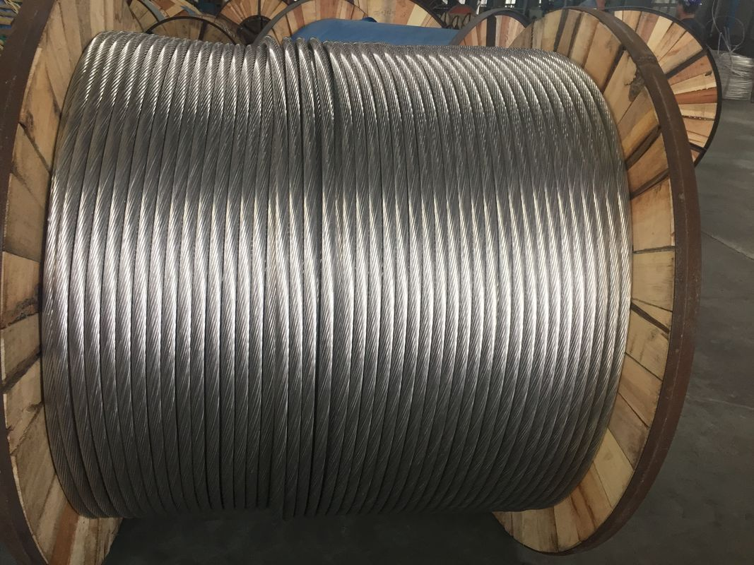 Simple Structure Aluminum Stranded Conductor 1.0-10.8 Gauge Ground Wire