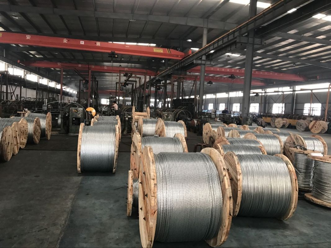 ACSR Conductor Galvanized Steel Wire For Overhead Transmission Line ...