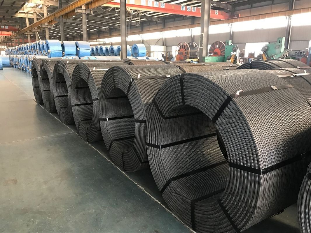 High Tensile PC Steel Wire For Post Tensioned And Pre Tensioned Concrete Structure