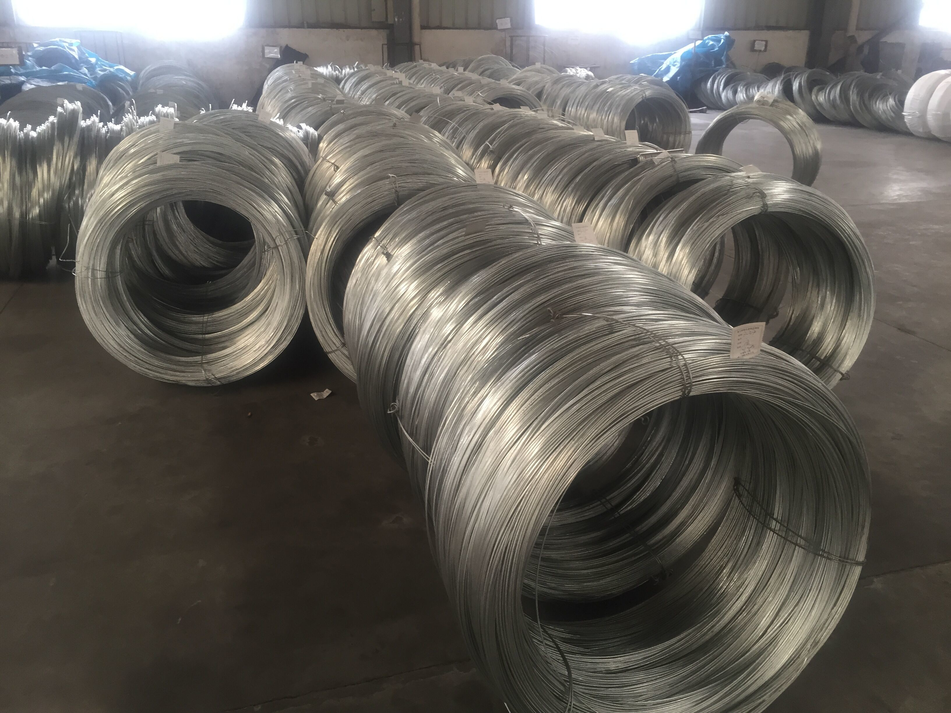 High Strength Galvanized Steel Core Wire Heavy Zinc Coating Greased ...