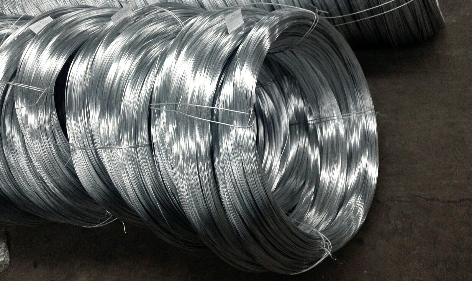 1 7 Inch 4.8-12.7 Mm Wire Rope Cable Hot Dipped Galvanized Surface ...