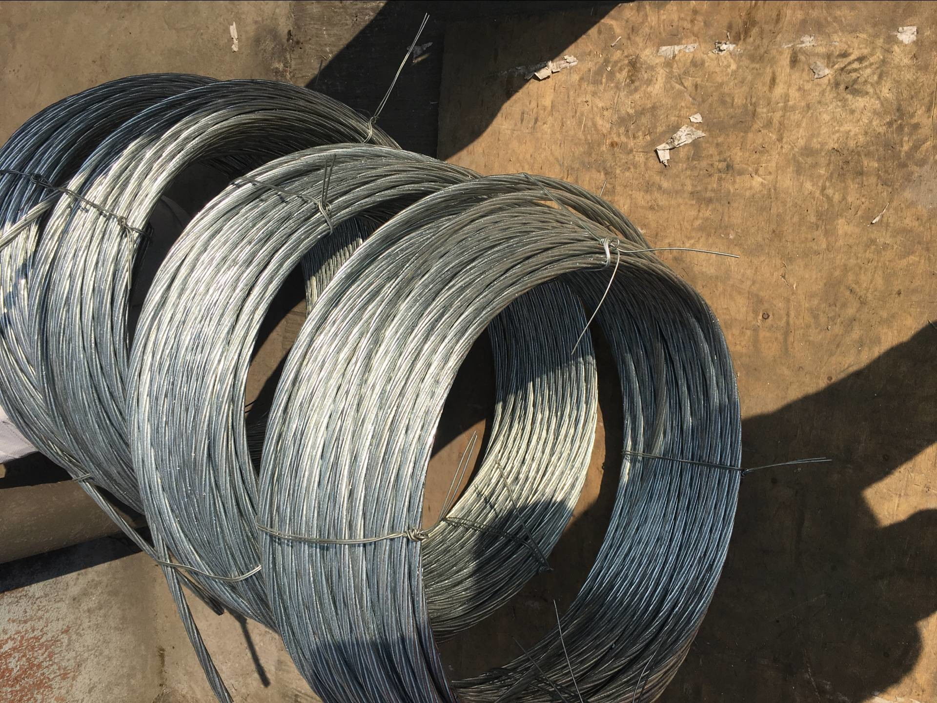 Grade700-1300 Galvanized Steel Wire Strand for stay wire 7/3.25mm 7 ...