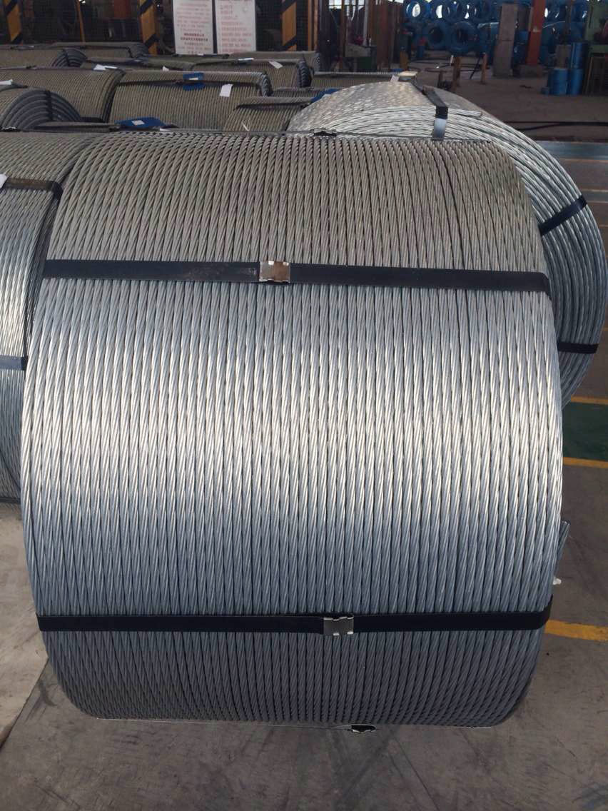Swrh 82b 17 Pc Steel Wire Rope Low Relaxation Prestressing Wiring A Metal Building Strands For House Buildings