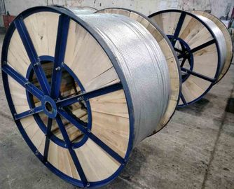 Water Resistance Galvanised Steel Wire With Hot Dip Galvanizing Vertical Process
