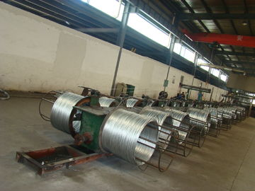 High Tension ASTM A 475 BS 183 Galvanized Steel Strand For Guy Wire Stay Wire