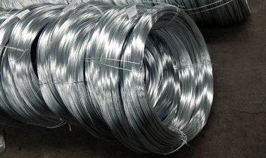 Low Relaxation Galvanized Wire Cable , Steel Cable Wire 1000-1550 MPA Tensile Strength