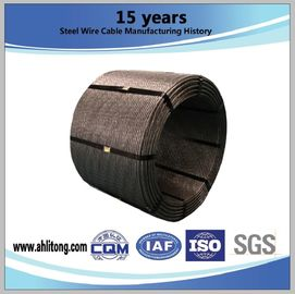 China Steel Strand uncoated seven-wire for prestressed contrete factory