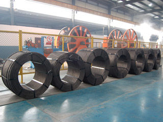 ASTM A416 AS4672 PC Steel Wire Strand Stress Relieved For Underground Park