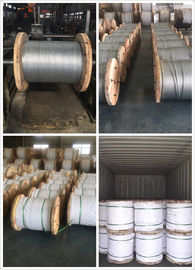 9 32 Inch Galvanized Steel Messenger Cable Spring Steel Wire 900-1720 Mpa Tensile Strength