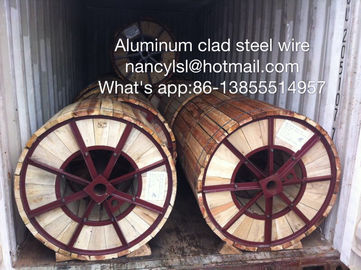 High Conductivity Aluminum Clad Steel Wire For Electric Transmission Line