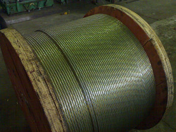 High Carbon Greased Zinc Coated Steel Wire Strand For ACSR Conductor