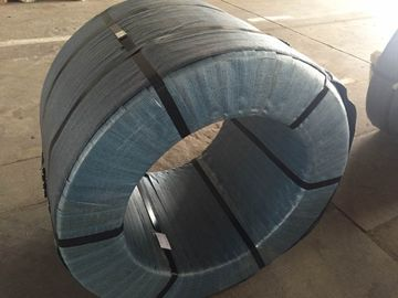China 12.5mm 12.7mm 15.24mm PC Steel Wire uncoated Seven Wire for Prestressed factory