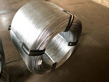Telephone Galvanized Steel Wire Cable 0.30mm - 4.00mm For Armouring In Coil