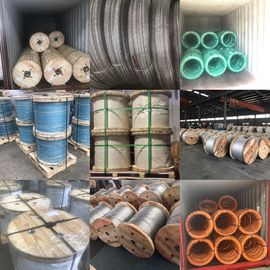 China 1x37 Guy Strand Wire Cable / Stay Wire / Messenger Wire / Earth Wire / Ground Wire factory
