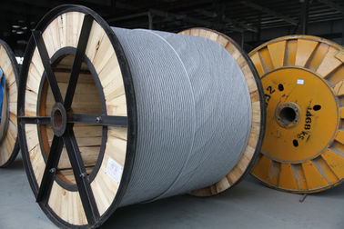 Lb40 Aluminium Clad Steel Wire Strand Acs For Opgw , SGS / BV Certification