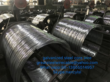 High Carbon Wire Rod Galvanized Steel Core Wire For Turkey To Penguin