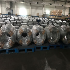 High Carbon Galvanized Steel Wire For Wire Rope , Galvanized Wire Roll