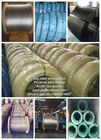 Waterproof 1 19 Galvanized Steel Wire , High Carbon Cable Steel Wire For Residential