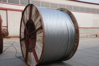 High Carbon Aluminium Clad Steel Wire Single Acsr Lightning Protection Wire For Optical Fiber Composite Overhead