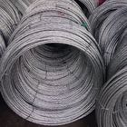 7x3.25mm 7x4.0mm Galvanized Stay Wire , Steel Guy Cable Wire As Per BS 183